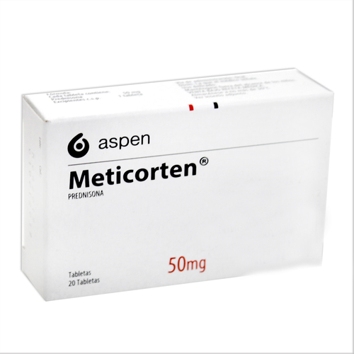 METICORTEN 50MG X 20 TABLETAS