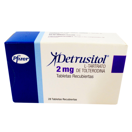 DETRUSITOL 2MG X 28 TABLETAS