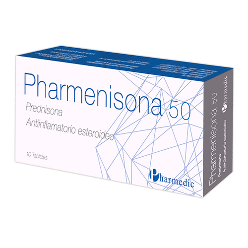 PHARMENISONA 50MG X 10 TABLETAS