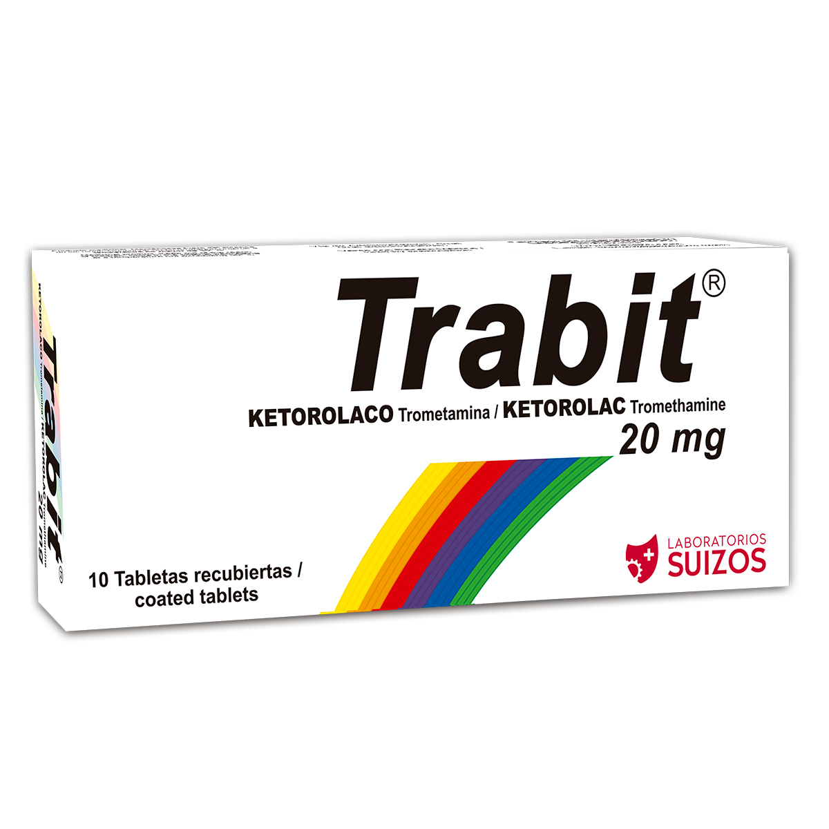 TRABIT 20MG X 10 TABLETAS (Ketorolaco)