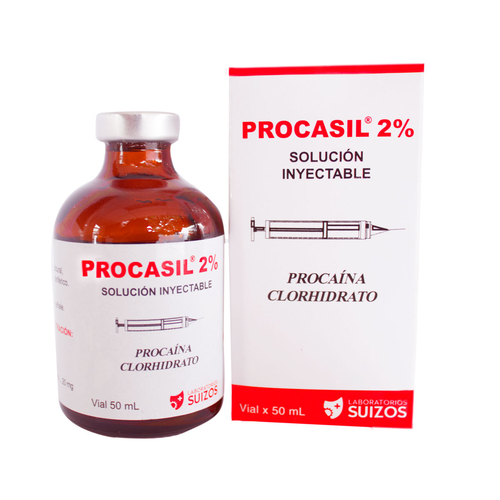 PROCASIL 2% INYECTABLE FRASCO X VIAL 50ML